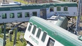 İtalya'nın kuzeyinde tren raydan çıktı: 3 yaralı
