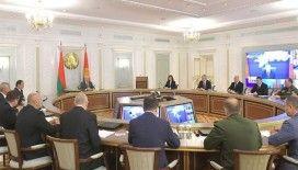 Lukaşenko Güvenlik Konseyi toplantısında 'huzur ve istikrar' talimatı verdi