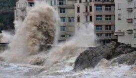 Çin'i Higos tayfunu vurdu