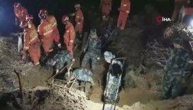 Çin'de toprak kayması: 5 ölü, 1 yaralı