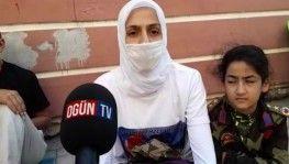 HDP önünde bekleyen ailelerden Cengiz Aygün'e teşekkür