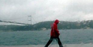 İstanbul'da gök gürültülü sağanak bekleniyor