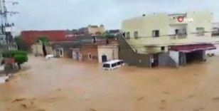 Tunus'ta sel felaketi: 1 ölü