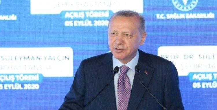 Cumhurbaşkanı Erdoğan: Türkiye'nin kendisine dayatılan haritaları yırtıp atacak güce sahip olduğunu anlayacaklar