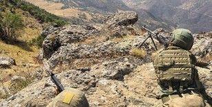 Irak ve Suriye'nin kuzeyinde 10 günde 91 PKK/YPG'li terörist etkisiz hale getirildi
