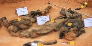 Libya'da Hafter'den kurtarılan Terhune'de ikinci toplu mezar bulundu