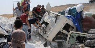 Şırnak'ta freni boşalan un yüklü tır, önündeki tıra çarptı: 3 ölü, 2 yaralı
