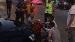 Malatya'da otomobil ile motosiklet çarpıştı