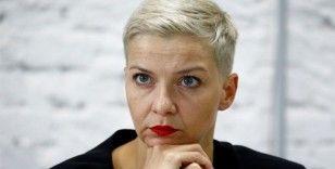 Belarus'a Kolesnikova baskısı artıyor