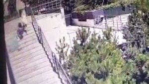 Lüks rezidanstaki feci ölümün görüntüleri ortaya çıktı