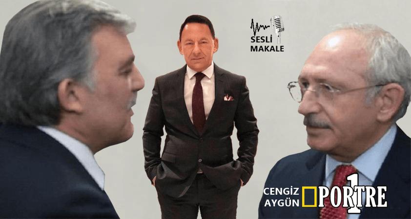 Kılıçdaroğlu'nun Gül'ü aday olarak düşündüğünü asla düşünmüyorum..