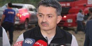 'Eğirdir ve Manavgat'ta çıkan yangınlar söndürüldü, Kahramanmaraş, Kanlıca ve Samandağ'da yangınımız sürüyor'