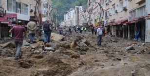 Giresun'da sel afeti son 21 yılın en yüksek yağışıyla gelmiş