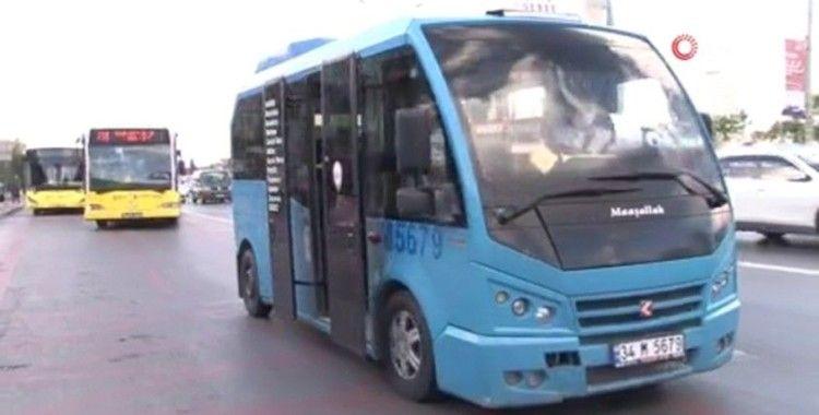 Yasağa rağmen otobüsler akşam saatlerinde de doldu taştı
