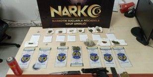 Polis iki saatte uyuşturucu şebekesini çökertti