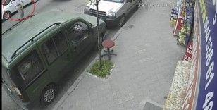 Yolcu otobüsü yaşlı adama çarptı, ölüm böyle teğet geçti