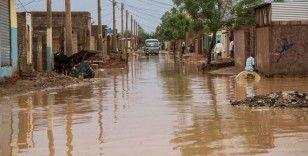 Sudan'ın başkenti Hartum'da şiddetli yağış