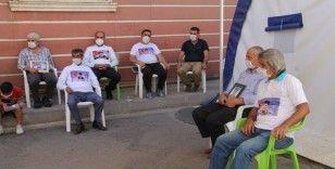 HDP önündeki ailelerin evlat nöbeti 370'inci gününde