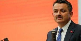 Bakan Pakdemirli: '16,4 milyon TL lisanslı depo desteği cuma günü hesaplara yatıyor'