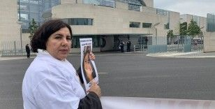 Almanya'da kızı terör örgütü PKK tarafından kaçırılan annenin eylemi sürüyor