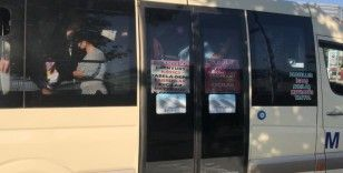 Minibüste 12 yerine 33 yolcu çıktı