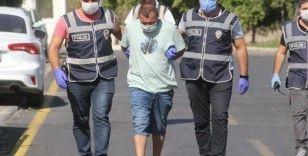 Market sahibi kadını taciz edip darp eden zanlı tutuklandı