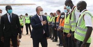 Dışişleri Bakanı Çavuşoğlu Senegal'de