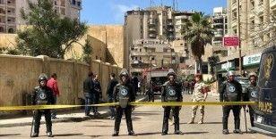 Mısır'da ruhsatsız bina yıkımı protestosu