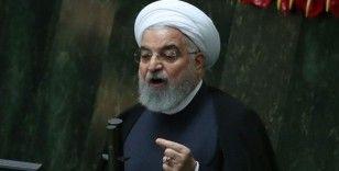 İran Cumhurbaşkanı Ruhani: 'Yaptırımlara ve koronavirüse rağmen iç üretimi arttırmalıyız'