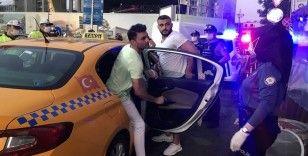 Taksim'de huzur uygulaması, adeta kuş uçurtulmadı