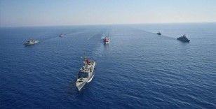 Karadeniz ve Doğu Akdeniz'deki görevli gemilere Türk Deniz Kuvvetlerince refakat ve koruma görevi devam ediyor