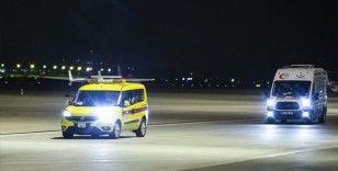 KKTC'deki Kovid-19 hastalarının Türkiye'ye nakli devam ediyor