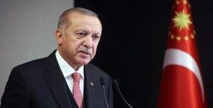Cumhurbaşkanı Erdoğan'dan Ertuğrul Gazi'yi anma mesajı