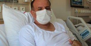 Korona virüsü yendi vatandaşları uyardı