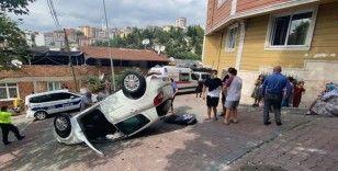 İstanbul'da feci kaza: Otomobil 20 metre sürüklendi