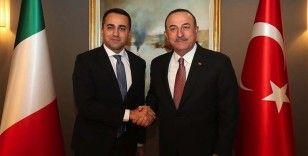 Dışişleri Bakanı Çavuşoğlu İtalyan mevkidaşıyla görüştü