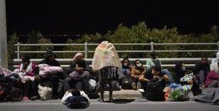 Yunanistan'ın Moria sığınmacı kampındaki sığınmacılar Avusturya'da iktidarı ikiye böldü