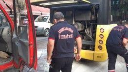 Otobüs şoförünün dikkati faciayı önledi