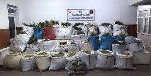 Diyarbakır'da uyuşturucuya dev operasyon