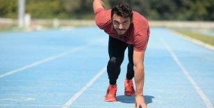 Rekortmen sprinterin gözü uluslararası başarılarda