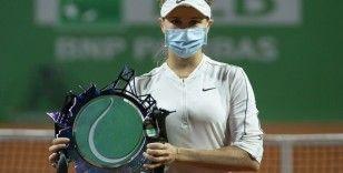 Tennis Championship Istanbul'da şampiyon Patricia Maria Tig oldu
