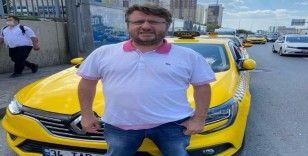 İstanbul'da taksiciden örnek davranış