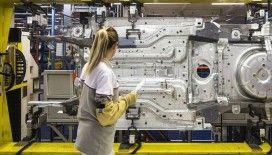 Sanayi üretimi Kovid-19 öncesi seviyesini geçti