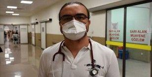 Kovid-19'u yenen doktor Silcan: Ağrılar yüzünden bağırıp çığlık attığım oldu