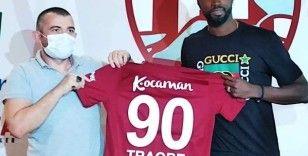 Traore Bandırmaspor'a imzayı attı