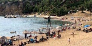 Saros'ta turizm hareketliliği devam ediyor