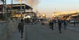 Afrin'de bomba yüklü araç patladı: 1 ölü, 5 yaralı