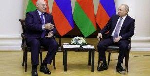 Belarus lideri Lukaşenko, Rusya Devlet Başkanı Putin ile görüştü