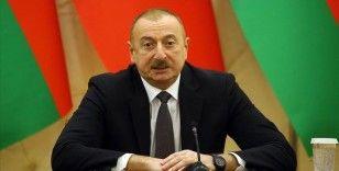 Aliyev'den Bakü'nün kurtuluşunun 102. yıldönümünü dolayısıyla Erdoğan'a mektup
