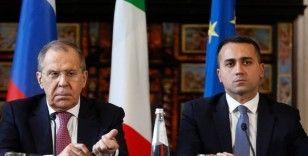 İtalya Dışişleri Bakanı Di Maio, Rus mevkidaşı Lavrov ile görüştü